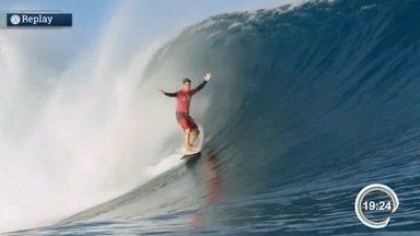 Medina está classificado para as quartas de final do Mundial de Surfe - Vitória em Fiji foi em grande estilo.