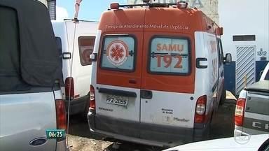 Em Caruaru, ambulâncias do Samu estão quebradas e preocupam moradores - Serviço também atende população de cidades próximas, como Bezerros e São Caetano. São apenas ambulâncias de emergência e uma de Tratamento Intensivo.