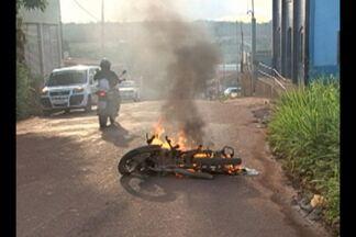 Acidente de trânsito assusta moradores de Altamira - Colisão aconteceu em um bairro da periferia de Altamira