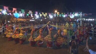 Festa da Fogueira é realizada no interior do AM - Evento é na Vila de Lindóia.