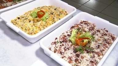Todos os tipos de arroz - Em Planalto o arroz é o prato principal de uma festança que acontece na cidade e é claro que o nosso apresentador não ia perder a oportunidade de conferir de perto essas delicias. Vem conferir!