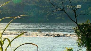#partiuRS: Salto do Roncador é uma das atrações de Porto Vera Cruz - Quedas d'água do rio Uruguai se destacam pelo som.