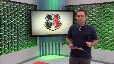 Luciano Maravilha lembra a última vez que o Santa venceu o Corinthians, em SP - Luciano Maravilha lembra a última vez que o Santa venceu o Corinthians, em SP