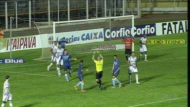 Londrina volta pra casa após derrota para o Luverdense - A derrota foi questionada pelos jogadores e torcida do Tubarão. Dois gols do LEC foram anulados pelo juiz e o Londrina volta pra casa com a derrota por 2 a 1.