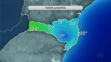 Tempo: domingo (26) deve ser de sol e baixas temperaturas em Santa Catarina - Tempo: domingo (26) deve ser de sol e baixas temperaturas em Santa Catarina