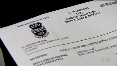 Confusão entre motoristas do Uber e taxistas, em Curitiba, assusta passageiros - O caso foi registrado na delegacia de policia