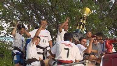 Campanha bate Andradas e conquista segundo título da Taça EPTV de Futsal - Campanha bate Andradas e conquista segundo título da Taça EPTV de Futsal