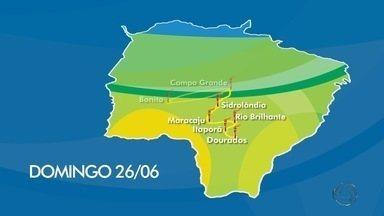 População de Dourados está na expectativa da chegada da Tocha - Em Dourados, no sul de MS, a Tocha Olímpica chega pela MS-156 e vai percorrer mais de 16 quilômetros com 81 condutores.