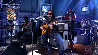 O Rappa agita a plateia com 'Uma vida só' - A banda interpreta música do álbum acústico