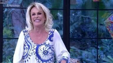 Ana Maria Braga morre de rir ao contar experiência com Zico - Apresentadora conta que jogador a recebeu com muita simpatia na Copa do Mundo da França, quando ela trabalhava em outra emissora