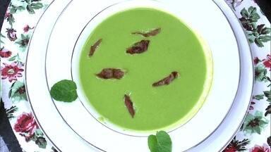 Sopa de Ervilha do José Hugo Celidônio - Chef dá dicas para fazer um delicioso caldo para esquentar o seu inverno
