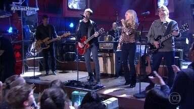 Paula Toller canta 'Vou Deixar' com Samuel Rosa e Lô Borges - Eles cantam hit do Skank
