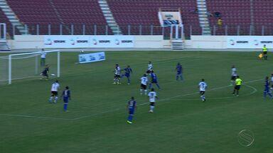 Confiança fica no empate com Botafogo-PB - Time proletário abre o placar, mas cede empate nos minutos finais. Resultado faz com que clube permaneça na zona do rebaixamento.