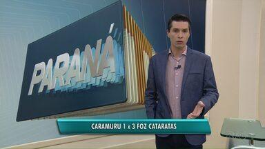 Caramuru perde em casa no Paranaense de Futsal - Derrota foi para o Foz Cataratas, no sábado.