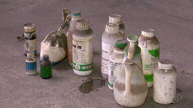 Saiba como descartar embalagens de agrotóxicos ou defensivos agrícolas - O chefe de fiscalização do IDAF disse que o dono do produto que não devolve a embalagem pode ser multado em até 1.500 reais.