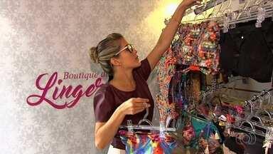 Comerciantes usam da criatividade para driblar a crise, em Goiânia - Uma das ideias é vender roupas íntimas em um trailer.