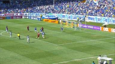 Vitória se supera e arranca empate heroico em partida contra o Cruzeiro - Time estava perdendo por 2 a 0 e mesmo com um homem a menos em campo consegui reverter o resultado da partida.