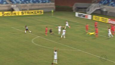 Com gol de goleiro, Cuiabá empata no último minuto com o América-RN - Com gol de goleiro, Cuiabá empata no último minuto com o América-RN