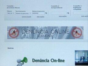 Site do Tribunal Regional Eleitoral oferece o sistema 'Denúncia On-line' - Ferramenta é para coibir a propaganda eleitoral de rua antecipada ou irregular.