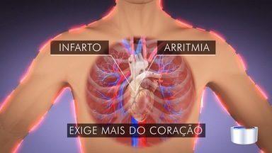 Risco de infarto aumenta 30% nos dias frios - Em São José, quem já teve infarto se cuida para não ter problemas.