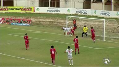 Serra Talhada perde para o time do Potiguar - Partida foi realizada no Estádio Nogueirão.