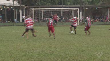 Confira o Torneio Cinquentão da Várzea - Praça Maldita e Juventude Nova Cintra se enfrentaram.
