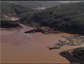 Ministério Público descobre obra não autorizada da Samarco em Mariana - Intervenções são em lago atrás de dique construído para conter rejeitos.