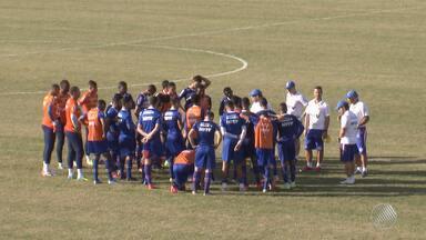 Bahia tem jogo importante contra o Vila Nova nesta terça (5), na Arena Fonte Nova - Time baiano precisa vencer o adversário para se reaproximar do G4 da série B do Campeonato Brasileiro.
