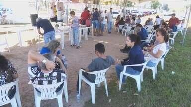 Paralisação da Eletrobras chega ao segundo dia em Rondônia - Usuários de Porto Velho foram até o Tudo Aqui para resolver problemas.