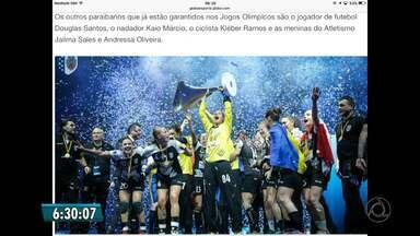 Mayssa Pessoa é convocada para a Olimpíada do Rio - Morten Soubak confirma as 14 jogadores da Seleção Brasileira de handebol feminino que vão disputar os Jogos do Rio