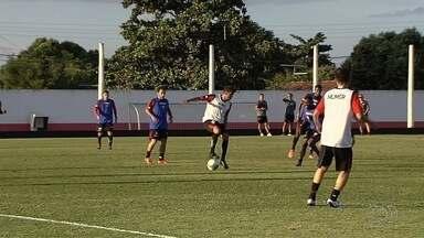 Em grande fase, Atlético-GO se prepara de olho no clássico - Dragão chega motivado para o duelo contra o rival Goiás