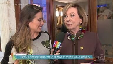 Fernanda Montenegro faz participação especial em 'Mister Brau' - Confira os bastidores de gravação do seriado com a convidada especial