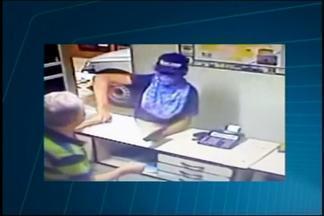 Proprietário de loja é agredido durante assalto em Bom Despacho - Comerciante já foi assaltado quatro vezes no local; ninguém foi preso até o momento.