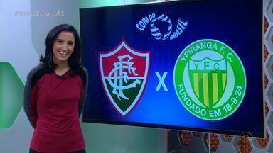 Globo Esporte RS - Bloco 2 - 06/07 - Assista ao segundo bloco do Globo Esporte RS desta quarta (6).