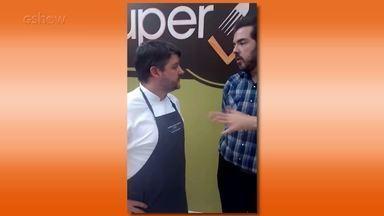 Carlos Kristensen dá dicas de culinária na brasa em 'snaps' com Ceylão - Confira!