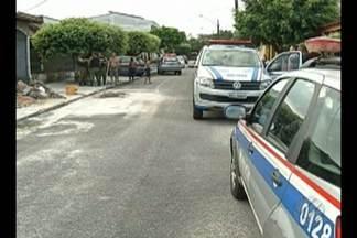 Uma família ficou refém de bandidos dentro da própria casa, em Belém - A casa fica no bairro de Val de Cans.