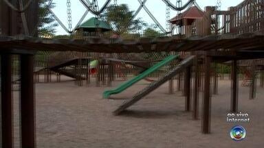 Parque em Rio Preto é opção de lazer para as crianças - Um parque de Rio Preto é opção de passeio para as crianças nas férias. Confira.