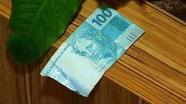 Comerciantes podem recusar cédulas de dinheiro rasgadas - Comerciantes podem recusar cédulas de dinheiro rasgadas.