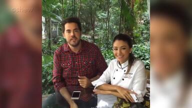 Fernando Ceylão conversa com Carolina Oliveira, a primeira eliminada do Super Chef 2016 - Confira!