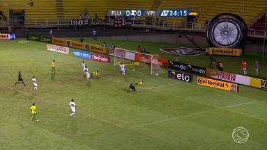 Fluminense e Ypiranga-RS empatam no Raulino de Oliveira, em Volta Redonda, RJ - Partida pela Copa do Brasil terminou em 1 a 1.