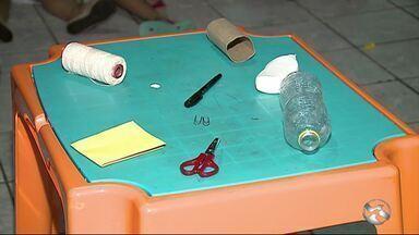 Brinquedos que iam para o lixo podem ser reciclados - Dica de diversão une sustentabilidade e educação familiar.