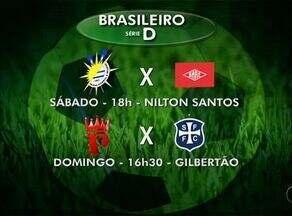Palmas enfrenta o Baré e torce pelo empate no outro jogo do grupo A2 da Série D - Palmas enfrenta o Baré e torce pelo empate no outro jogo do grupo A2 da Série D