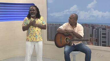 Cantor Igbonan Rocha se apresenta em Maceió - Show Samba de Nêgo é realizado neste sábado (9).