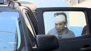 Jovem presa por acidente fatal no Rio Jucu, ES, deixa presídio - Mayara recebeu sentença de liberdade provisória e pagou fiança.Ela dirigia o carro que caiu no rio e deixou três mortos, na BR-101.