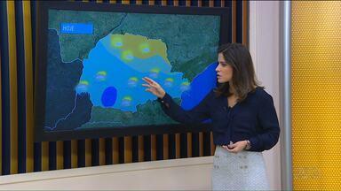 Tempo: Chuva deve ocorrer só no fim do dia - Mesmo assim são pancadas de chuva isoladas em cidades da metade sul do estado.