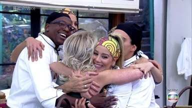 Danielle Winits é eliminada no Super Chef Celebridades 2016 - Rodrigo Minotauro conseguiu 92% dos votos para permanecer na disputa