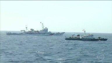 Tribunal internacional decide que China não tem direito sobre sul do mar da China - Corte Permanente de Arbitragem considerou que a China violou os direitos de soberania das Filipinas, construindo ilhas artificiais e impedindo a pesca.