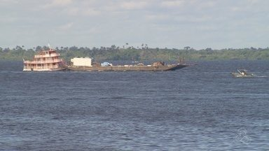 Estiagem atinge municípios no interior do AM - Cheia do Rio Negro ficou abaixo da média.