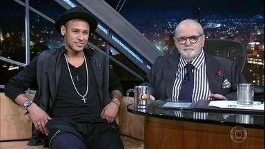 Jô Soares entrevista o jogador Neymar - O jogador abre o coração, fala sobre Messi, a expectativa para a Olimpíada, a relação com o filho Davi Lucca, as puxadas de orelha do pai e a fama de baladeiro