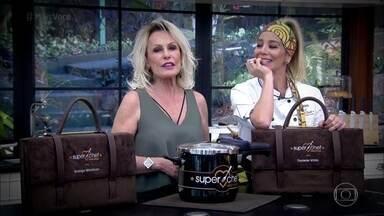 Ana Maria relembra eliminação de Danielle Winits no Super Chef Celebridades 2016 - A atriz foi eliminada nesta terça-feira
